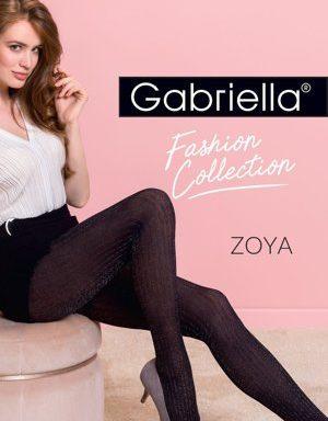 Gabriella Zoya368 Wyrób pończoszniczy, nero-silver